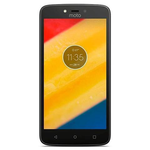 Celular Smartphone Motorola Moto C Xt1755 16gb Preto - Dual Chip