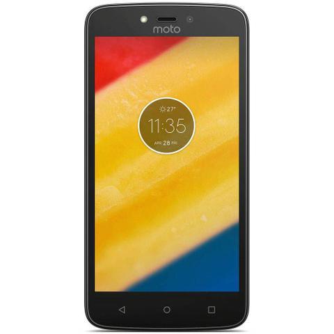 Imagem de Smartphone Motorola Moto C XT1750 Dual Sim 3G Tela 5.0 8GB Cam 5MP - Preto