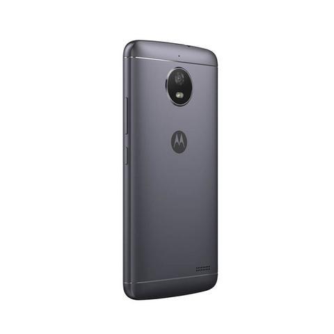 Imagem de Smartphone Motorola Moto E4 16GB Preto com Capa Titanium