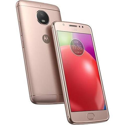 Imagem de Smartphone Motorola Moto E4 16GB Tela 5 Dual Chip 4G Quad-Core 1.3GHz Câmera 8MP - Dourado