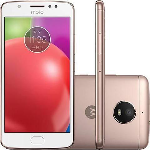 Imagem de Smartphone Motorola Moto E4 4G Tela 5 Polegadas Android 7.1 Câmera 8MP Dual Chip - Ouro