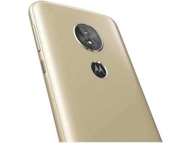 Imagem de Smartphone Motorola Moto E5 16GB Ouro 4G Quad Core