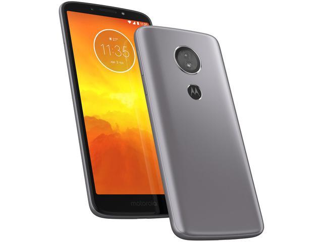 Imagem de Smartphone Motorola Moto E5 16GB Platinum