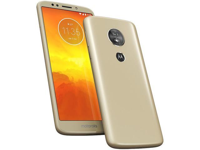 Imagem de Smartphone Motorola Moto E5 32GB Ouro 4G