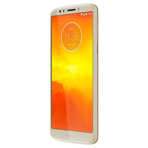 Imagem de Smartphone Motorola Moto E5, Dual Chip, Dourado, Tela 5.7