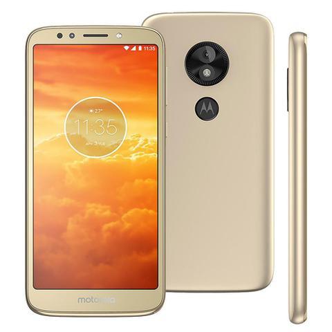 Imagem de Smartphone Motorola Moto E5 Play XT1920, Android 8.1, Dual chip, 8MP, 5.34'', 16GB, 4G - Dourado
