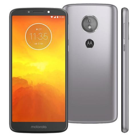 Imagem de Smartphone Motorola Moto E5 XT1944 16GB Tela 5.7 Dual Chip Android 8.0 4G Câmera 13MP Processador Quad-Core 2GB de RAM - Platinum