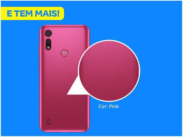 Imagem de Smartphone Motorola Moto E6S 32GB Pink 4G