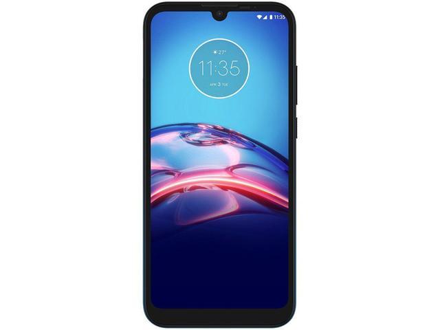 """Imagem de Smartphone Motorola Moto E6S 64GB Azul Navy 4G - Octa-Core 4GB RAM 6,1"""" Câm. Dupla + Selfie 5MP"""