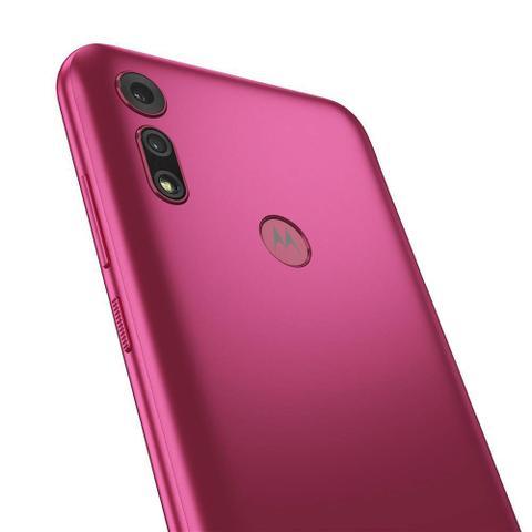 Imagem de Smartphone Motorola Moto E6S Pink 32GB 2GB RAM Tela Max Vision de 6.1