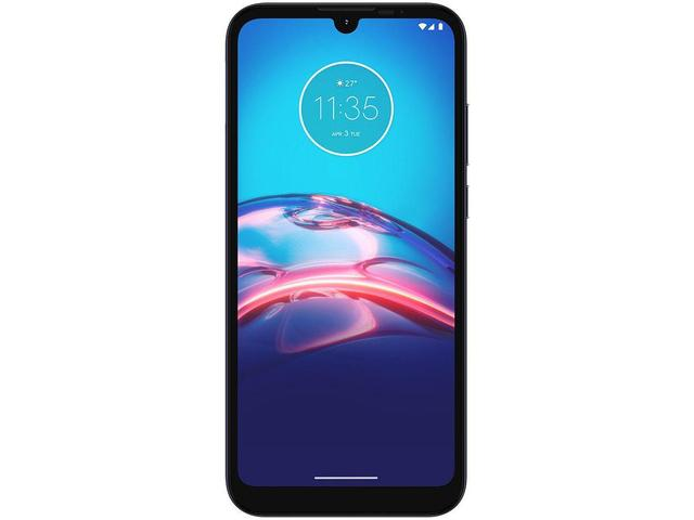 Imagem de Smartphone Motorola Moto E6S XT2053 Cinza Titanium 32GB, Tela Max Vision de 6.1