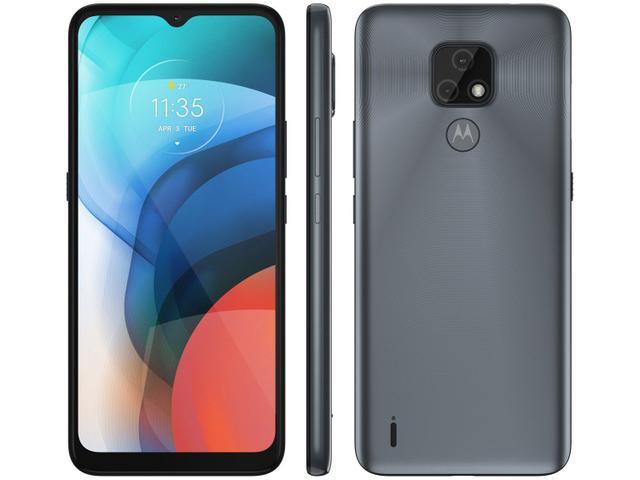 Imagem de Smartphone Motorola Moto E7 32GB Cinza Metálico