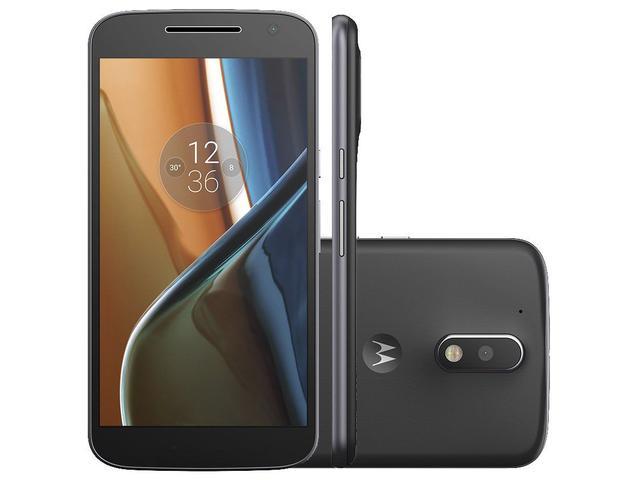 Imagem de Smartphone Motorola Moto G 4ª Geração 16GB Preto