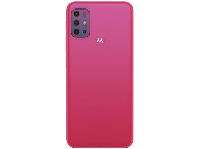 """Imagem de Smartphone Motorola Moto G20 64GB Pink 4G - 4GB RAM Tela 6,5"""" Câm. Quádrupla + Selfie 13MP"""