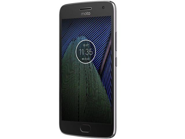 Imagem de Smartphone Motorola Moto G5 Plus 32GB Platinum