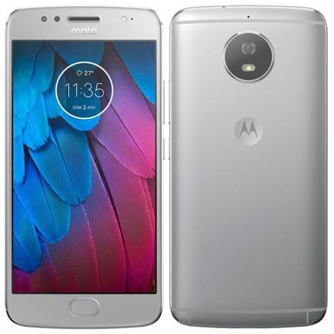 Imagem de Smartphone Motorola Moto G5s Prata, Dual Chip, Tela 5.2