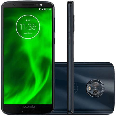 Imagem de Smartphone Motorola Moto G6 32GB Dual 5.7'' 12MP XT 1925 Índigo