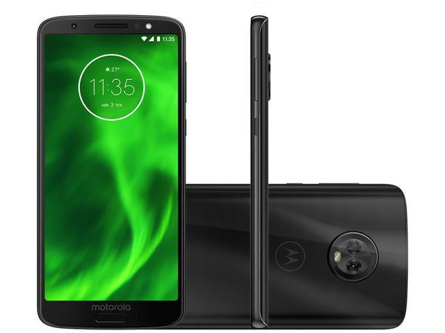 Imagem de Smartphone Motorola Moto G6 64GB Preto 4G