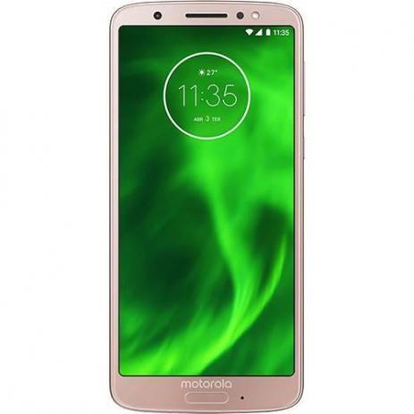 Imagem de Smartphone Motorola Moto G6 Dual 32GB Câmera 12MP+5MP Tela 5.7 Polegadas XT1925-3 Ouro Rose