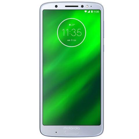 Imagem de Smartphone Motorola Moto G6 Plus Topázio DualChip 64GB Tela 5.9 Câmera Traseira Dupla 12 MP e 5 MP