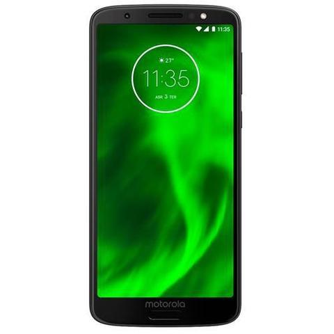 Imagem de Smartphone / Motorola / Moto G6 XT-1925-13 / Tela de 5.7 / Dual Sim / 64GB - Preto