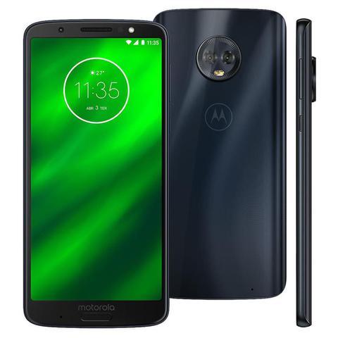 Imagem de Smartphone Motorola Moto G6 XT1925-3 32GB 4G 5,7 Câmera Traseira Dupla de 12MP+5MP Índigo