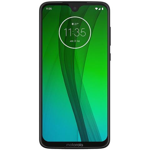 Imagem de Smartphone Motorola Moto G7 64GB 4GB Tela 6.24 Full HD Câmera 12 + 5MP (Dual Traseira) - Ônix