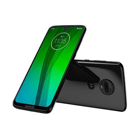 Imagem de Smartphone Motorola Moto G7 64GB Dual Chip Android Pie 9.0 Tela 6.3 Octa Core 4G Câmera 12+5MP