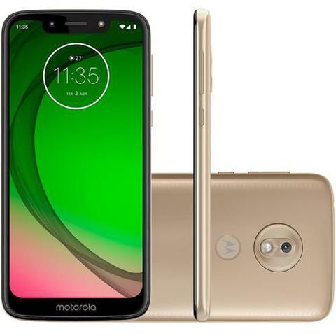 Imagem de Smartphone Motorola Moto G7 Play 32GB, Dual Chip, Android, Tela 5.7 Pol, 4G, Câmera 13MP - Ouro
