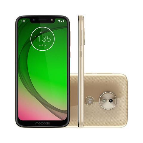 Imagem de Smartphone Motorola Moto G7 Play Edicao Especial 32GB Tela 5.7 - Ouro