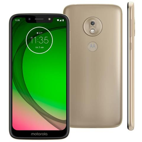 Imagem de Smartphone Motorola Moto G7 Play Ouro XT1952 32GB