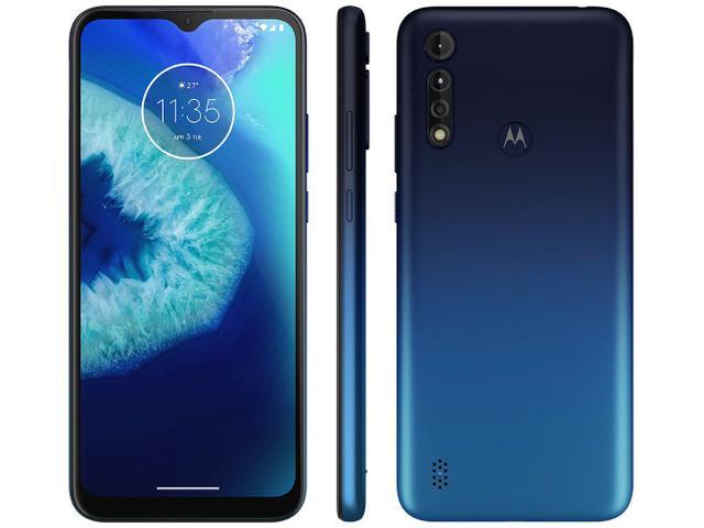 Imagem de Smartphone Motorola Moto G8 Power Lite 64GB Azul