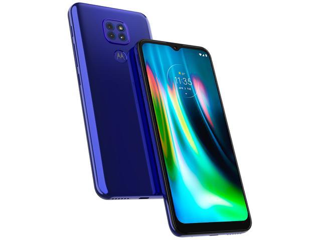 Imagem de Smartphone Motorola Moto G9 Play 64GB Azul Safira