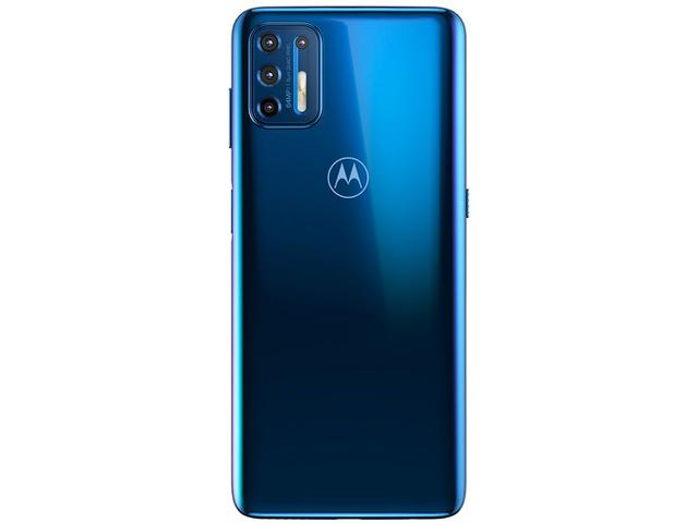 Imagem de Smartphone Motorola Moto G9 Plus 128GB Azul Indigo