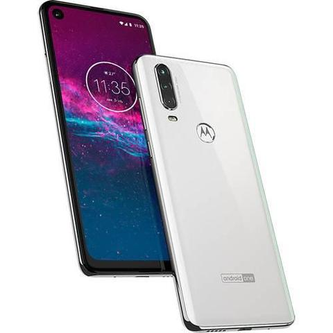 Imagem de Smartphone Motorola Moto One Action XT2013 128GB Branco