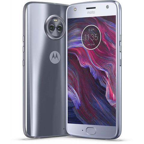 Celular Smartphone Motorola Moto X4 Xt1900 64gb Azul Topázio - Dual Chip