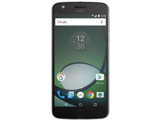 Imagem de Smartphone Motorola Moto Z Play 32GB Preto e Prata