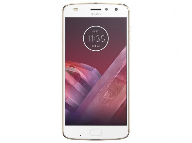 Imagem de smartphone motorola moto z2 play 64gb ouro - dual chip 4g câm. 12mp + selfie 5mp tela 5.5