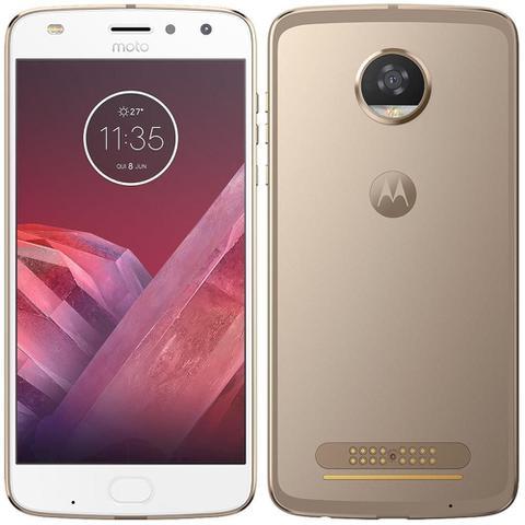 Imagem de Smartphone Motorola Moto Z2 Play, Dual Chip, Ouro, Tela 5,5