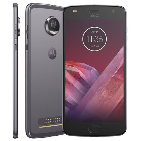 Imagem de Smartphone Motorola Moto Z2 Play Power 4/64gb Platinum
