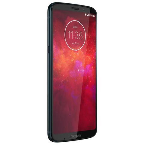Imagem de Smartphone Motorola Moto Z3 Play, Gamepad, 64GB, 6, Dual Chip, Android 8.1, 4GB - Indigo