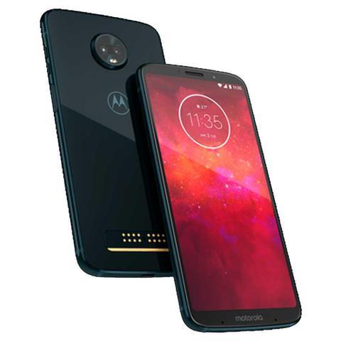 Imagem de Smartphone Motorola Moto Z3 Play, Indigo, XT1929, Tela de 6