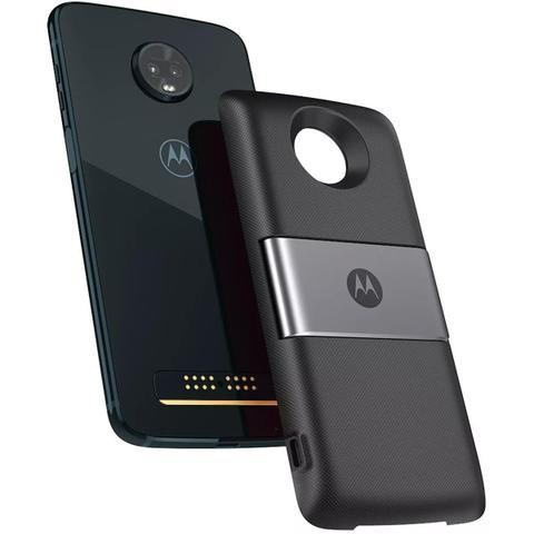 Imagem de Smartphone Motorola Moto Z3 Play Power Pack DTV 64gb 6