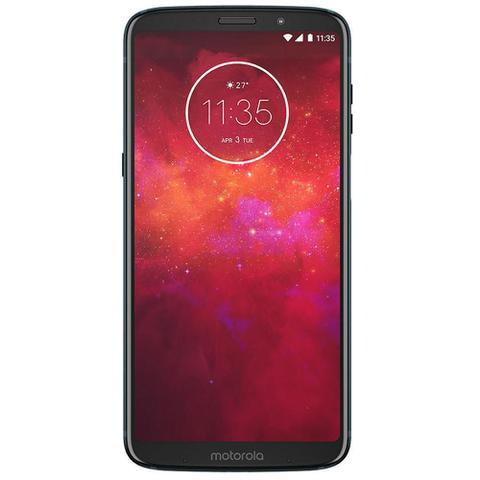 Imagem de Smartphone Motorola Moto Z3 Play Stereo Speaker, 64GB, 6, Dual Chip, Android 8.1, 4GB - Indigo