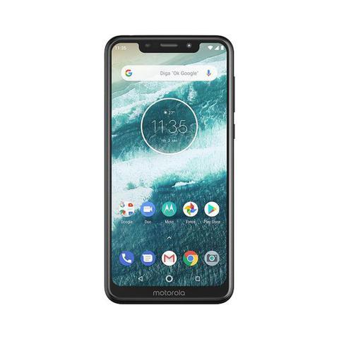 Imagem de Smartphone Motorola One 64GB Dual Chip Android Oreo 8.1 Tela 5.9 2.0 Octa-Core 4G Câmera 13+2MP