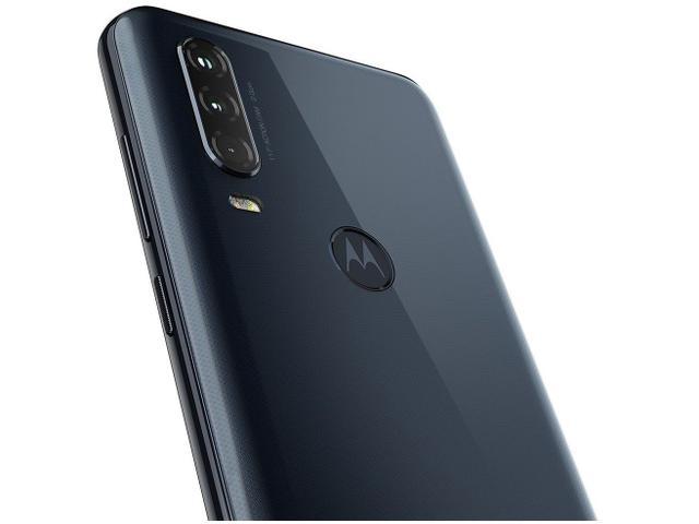 Imagem de Smartphone Motorola One Action 128GB Azul 4G