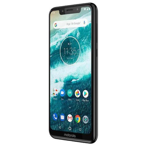Imagem de Smartphone Motorola One, Dual Chip, Preto, Tela 5,86