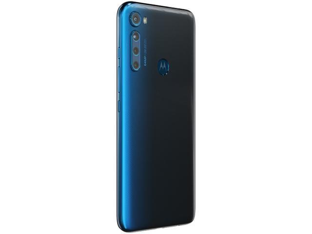Imagem de Smartphone Motorola One Fusion+ 128GB Azul Indigo