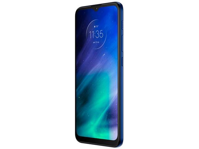 Imagem de Smartphone Motorola One Fusion 128GB Azul Safira