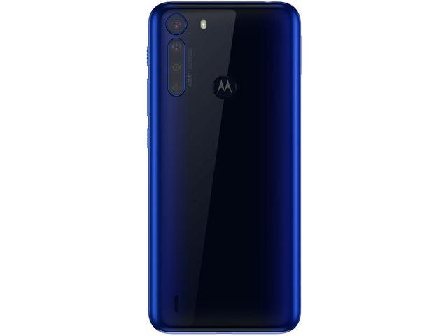 Imagem de Smartphone Motorola One Fusion 64GB Azul Safira